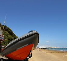 Sandown and Shanklin Inshore Lifeboat by Jonathan Cox