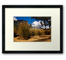 Country Shed Framed Print