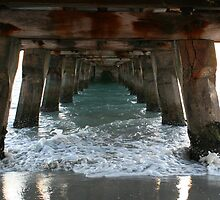 Under The Boardwalk by Leanne Allen