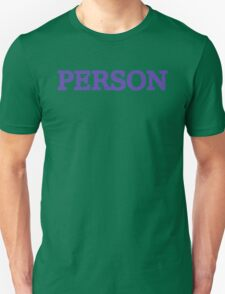 Person T-Shirt