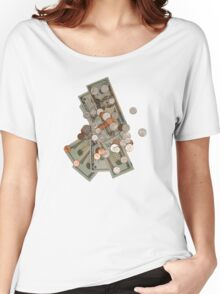 Money Women's Relaxed Fit T-Shirt