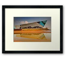 The Deep Framed Print