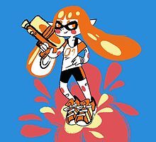 My Inkling is ready! by Aguichan