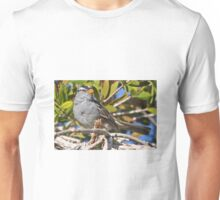 MOCKING BIRD IN A TREE Unisex T-Shirt