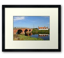 Tattershall Bridge Framed Print