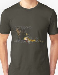 calvin and hobbes tree T-Shirt