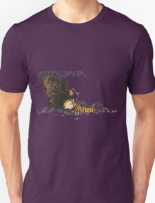 calvin and hobbes tree T-Shirt