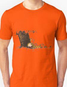 calvin and hobbes tree Unisex T-Shirt
