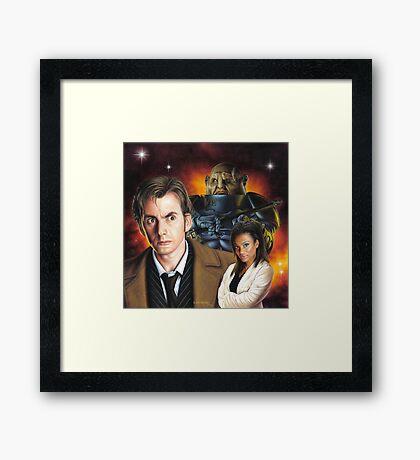 David Tennant the 10th Doctor Framed Print