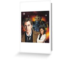David Tennant the 10th Doctor Greeting Card