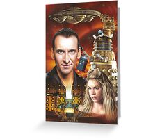 Christopher Ecclestone the 9th Doctor Greeting Card