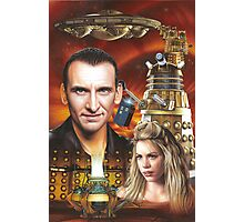 Christopher Ecclestone the 9th Doctor Photographic Print