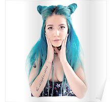 Halsey Space Baby Poster