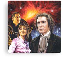 Paul McGann the 8th Doctor Canvas Print