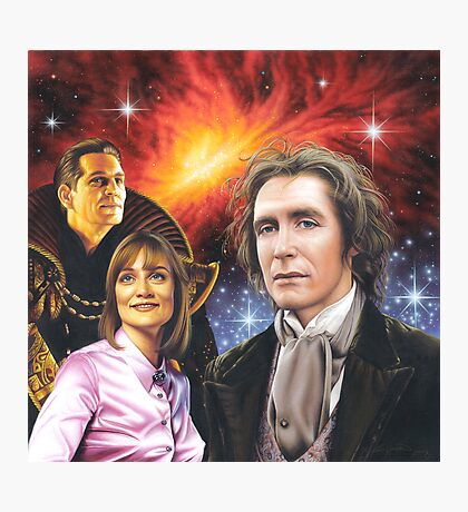 Paul McGann the 8th Doctor Photographic Print