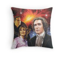 Paul McGann the 8th Doctor Throw Pillow