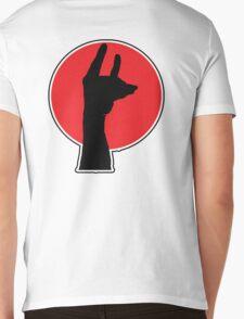 Handy Llama Mens V-Neck T-Shirt
