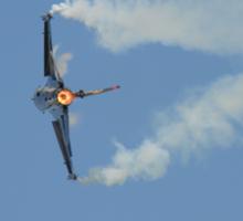 Turkish F16 at Waddington Airshow Sticker