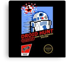 Droid Hunt  Canvas Print