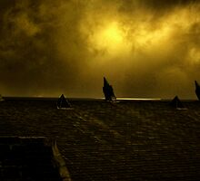 Rooftop Drama by lightsmith
