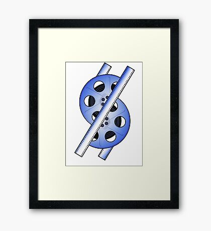 The 50 Fifty Reel Logo Framed Print