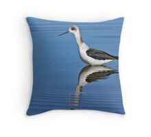 ripples & reflection Throw Pillow