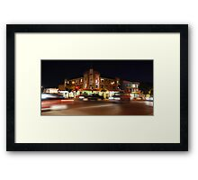 Fotheringham's Hotel After-dark Framed Print