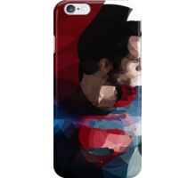 Man of steel iPhone Case/Skin
