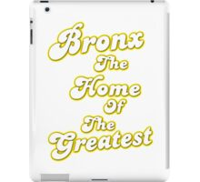 Home of the greats iPad Case/Skin