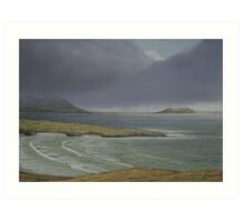 View from Knockamany bends,Co Donegal. Art Print