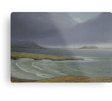 View from Knockamany bends,Co Donegal. Metal Print