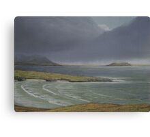 View from Knockamany bends,Co Donegal. Canvas Print