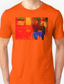 COLORS OF TUSCANY (CARD) Unisex T-Shirt