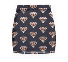 Tiger Diamond (white) Mini Skirt
