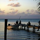 Evening Belize by HeatherEllis
