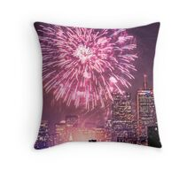 Boston, MA July 4th Pops Fireworks Spectacular! Throw Pillow