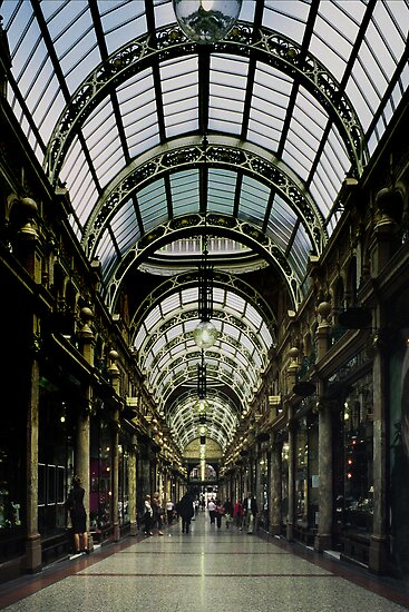 Victoria Quarter, Country Arcade, Leeds by nadine henley