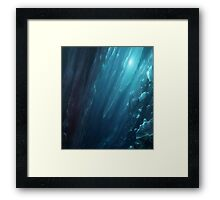 Crystal Space Framed Print