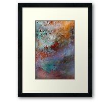 Advancement of Autumn... Series of Seasons Framed Print