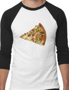 Spicy Pizza Slice Men's Baseball ¾ T-Shirt