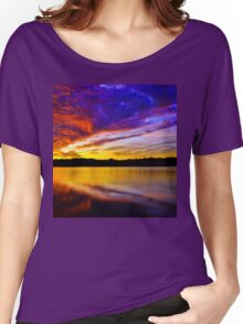 Burning sky 2 Women's Relaxed Fit T-Shirt