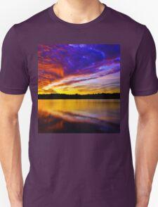 Burning sky 2 Unisex T-Shirt