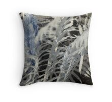 Fern Heart Throw Pillow