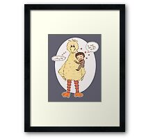 Romney Loves BigBird Framed Print