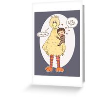 Romney Loves BigBird Greeting Card