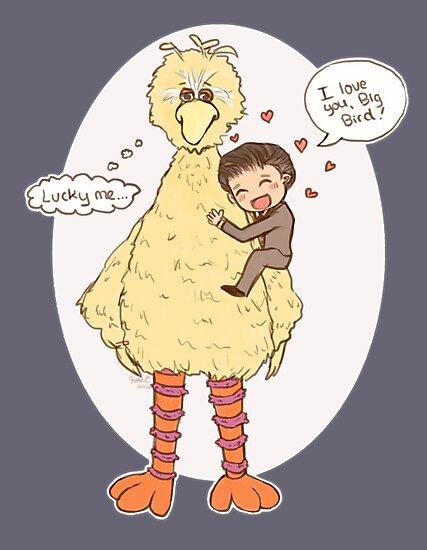 Romney Loves BigBird by Katie Evans