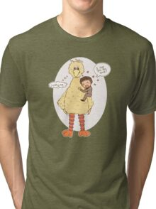 Romney Loves BigBird Tri-blend T-Shirt