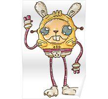 Robo Bunny Poster