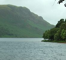 Ennerdale Water and Crag Fell. July 2009 by Phil Mitchell