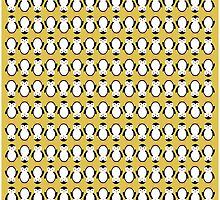 Penguin Pattern by allysonjohnson